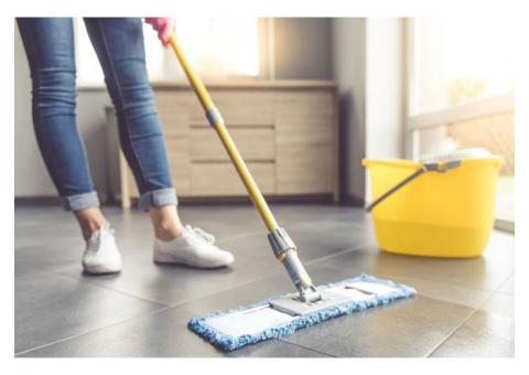 1st hour free business or residential cleaning