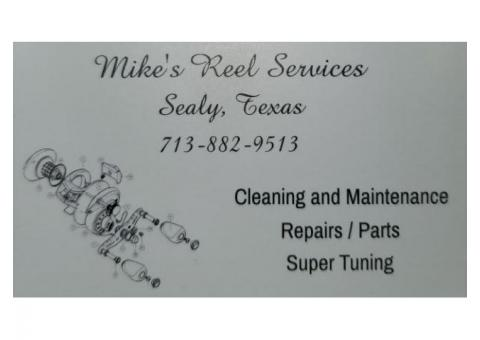 Fishing Reel Service and Repairs
