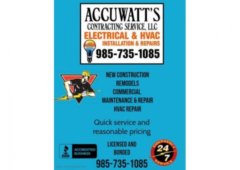 Electrical and HVAC